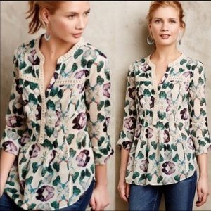 ANTHROPOLOGIE | Maeve Butterfly Tunic
